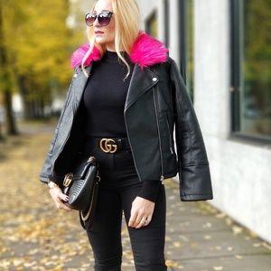 MODA ME COUTURE Jackets & Coats - ARYA Moto Jacket